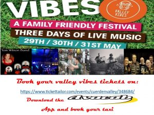 Avacab are proud sponsors of Valley Vibes